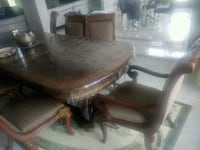 brown wooden dining table set Guelph, N1H 6J2