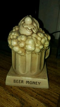 Vtg Coin Bank (Beer Money)