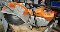 STIHL TS410 CUT OFF CONCRETE SAW WITH BLADE USED TESTED. IN A GOOD WORKING ORDER.  Baltimore, 21205