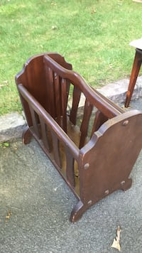 brown wooden headboard and footboard New York, 11237