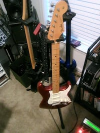 Candy apple red Johnson strat electric guitar Carrollton, 23314
