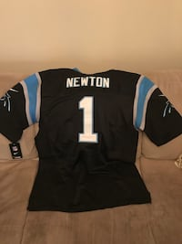black, gray, and blue Newton 1 jersey