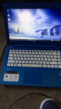 black and blue HP laptop Capitol Heights, 20743