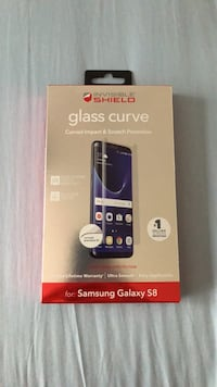 Samsung Galaxy S8 curved glass screen protector  Charlotte, 28270