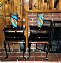 Vintage looking end tables with slide-out Shelf th Pasadena, 21122