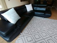 Leather sectional sofa  Burnaby, V3N