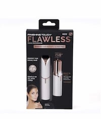 FINISHING TOUCH FLAWLESS WOMEN'S PAINLESS HAIR REMOVER   BRAND NEW Victorville, 92392