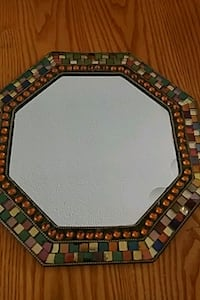 Partlite Mosaic candle plate