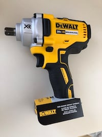 "New Dewalt 20V 1/2"" Impact Wrench."