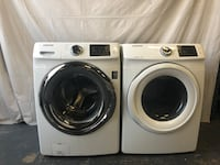 Samsung White Front Load Washer Dryer *Stacking Ability* Lakewood, 80232