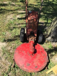 Gravely walk behind mower