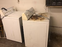 Washer and dryer. Functional. Rochester, 03867