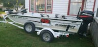 Alumacraft boat and EZ load trailer  Creston, 50801
