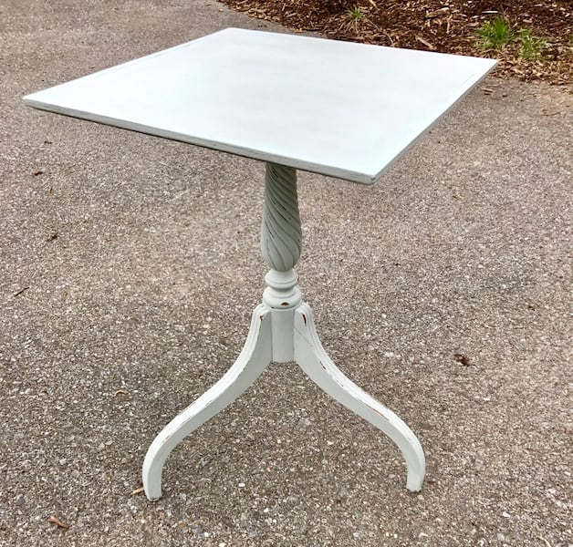 Robin egg blue chalk painted accent table 3b44332f-854f-45e9-9bf4-2cef752069d4