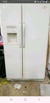 Frigidaire gallery french double door fridge