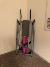 Gazelle, medicine ball and ankle weights included