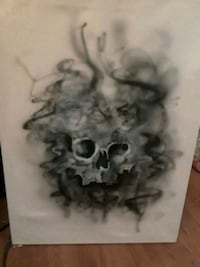 Original skull canvas artwork Springdale, 72762