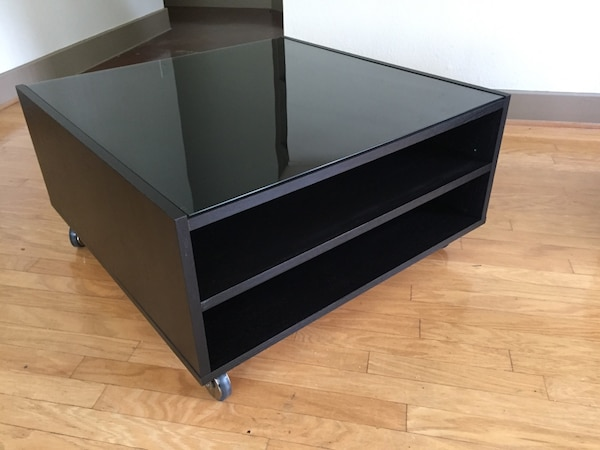 Like New Coffee Table Ikea Boksel