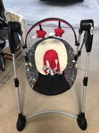 Baby swing with adjustable height 2236 mi