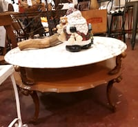 Marble top coffee table  Orillia, L3V 6H2