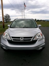 2010 Honda CR-V White Post