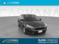 2018 Ford Focus hatchback SE Hatchback 4D Gray