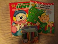 New X-Mas Coloring Books & Crayons 276 mi