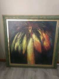 Painting of Palm Tree Oakdale, 55128