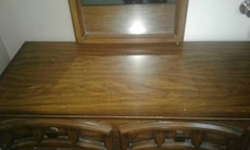 6 drawer dresser with two mirrors