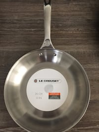 "New 10"" Le Creuset Stainless Steel Frying Pan Washington, 20001"