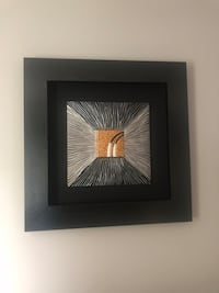 brown wooden framed painting of white and black bird Greater Sudbury / Grand Sudbury, P3N 1C4