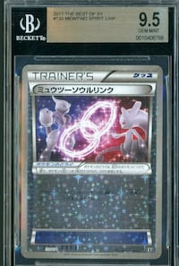 The best of xy mewtwo spirit link bgs 9.5  Manteca