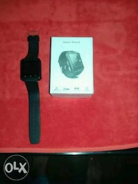 black Apple watch with black sports band Lucknow, 226010