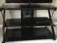 black glass TV stand with mount Columbus, 43081