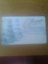 Allure Spa and Hair Design Gift Card