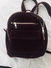 GAP Velvet maroon backpack  Emeryville, 94608