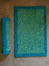 2 Green & Blue Rugs for Kids Rooms
