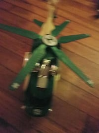 green and gray helicopter toy New Windsor, 21776