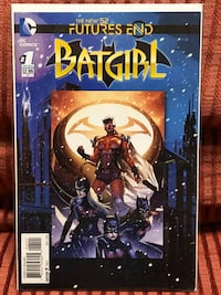 DC Comics Futures End BATGIRL issue #1 Comic Book with bag and board !!! Plainfield
