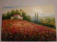 house and garden painting