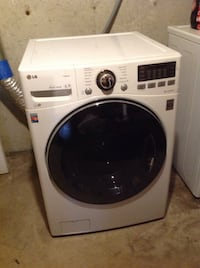 white front-load clothes washer Methuen, 01844