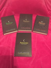 House of night book bundle hard cover