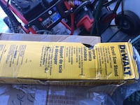 dewalt scroll saw stand box Port Coquitlam, V3B 2A3