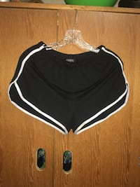Black and white shorts in large Irvine