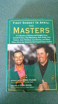 First Sunday in April: The Masters book
