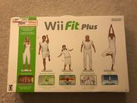 WII FIT PLUS BOARD WITH GAME INCLUDED