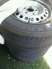 4 stock wheels ,,new tires 2003 accrds Palmdale, 93550