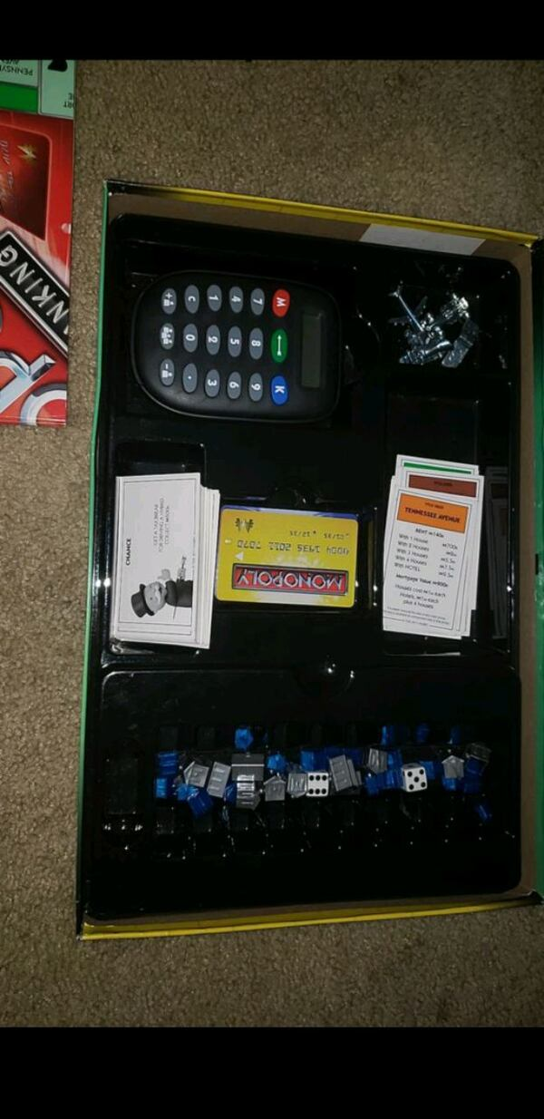 Monopoly electric banking  0