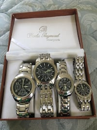 2 sets of couple watches Mount Joy, 17552