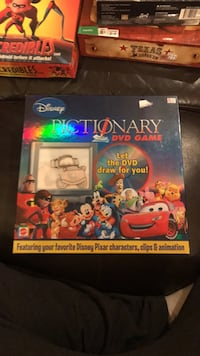 Disney Pictionary Hamilton